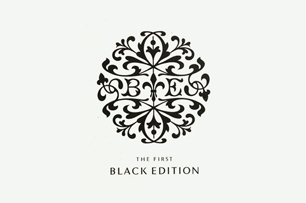 THE FIRST BLACK EDITION / logotype